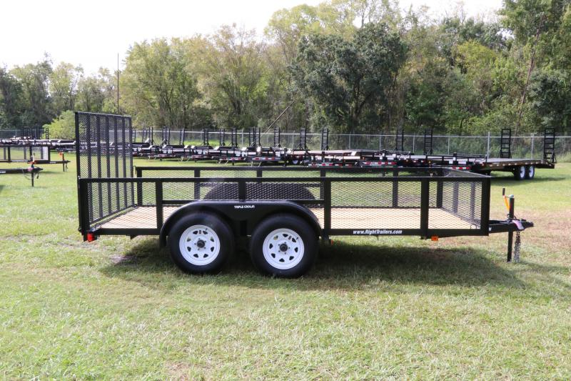 6 x 14 Red Hot Trailers   Utility Trailer