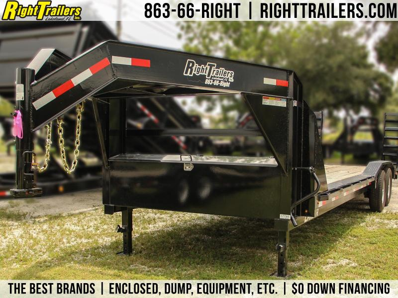 8.5x26 Lamar Trailers | Equipment Trailer Gooseneck}