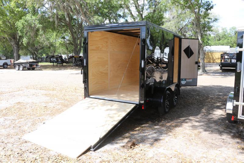6X12 Continental Cargo I Enclosed Cargo Trailer
