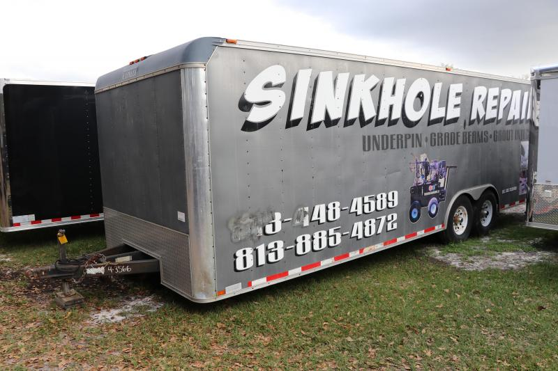 8.5X24 Express Trailers | Enclosed Cargo Trailer