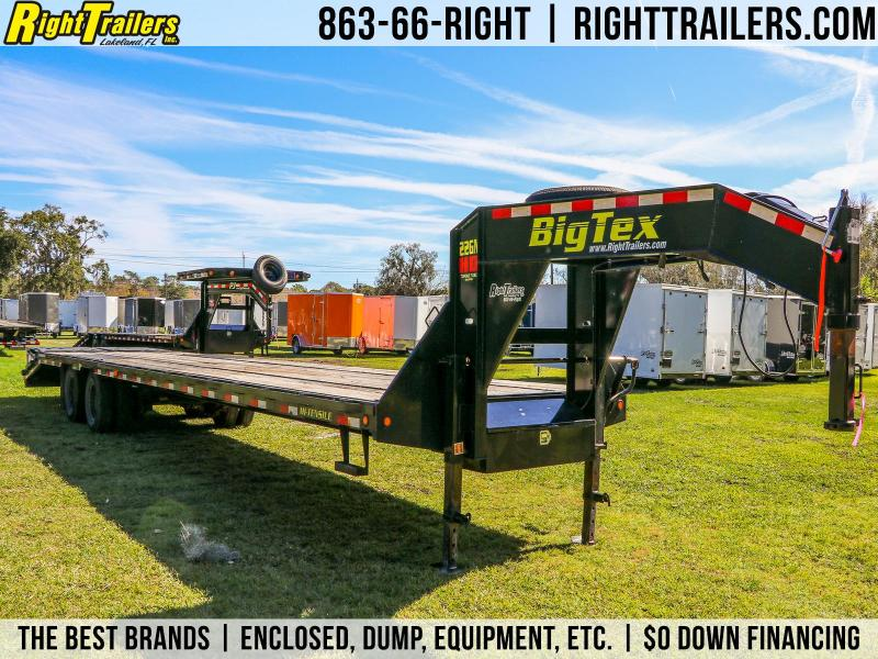 8.5x40 Big Tex Trailers | Equipment Trailer [22GN-35BK+5MR]