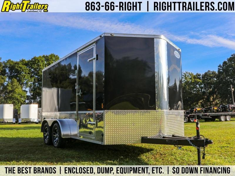 7x14 Continental Cargo | Enclosed Motorcycle Trailer