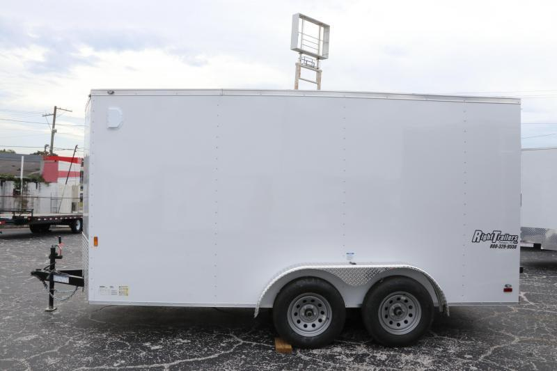 7x14 Continental Cargo | Enclosed Trailer