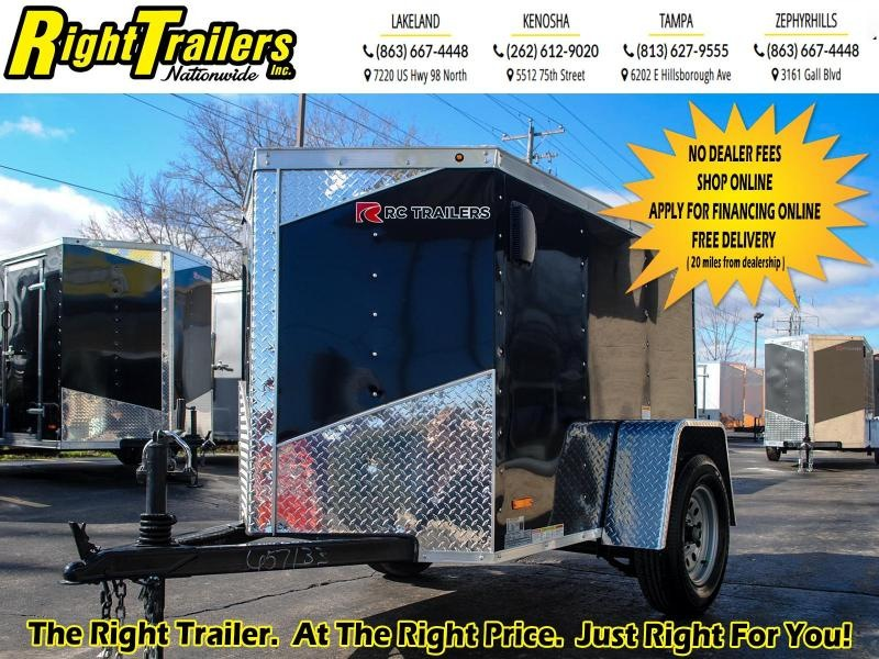 2020 RC Trailers 4 x 6 3K Enclosed Cargo Trailer