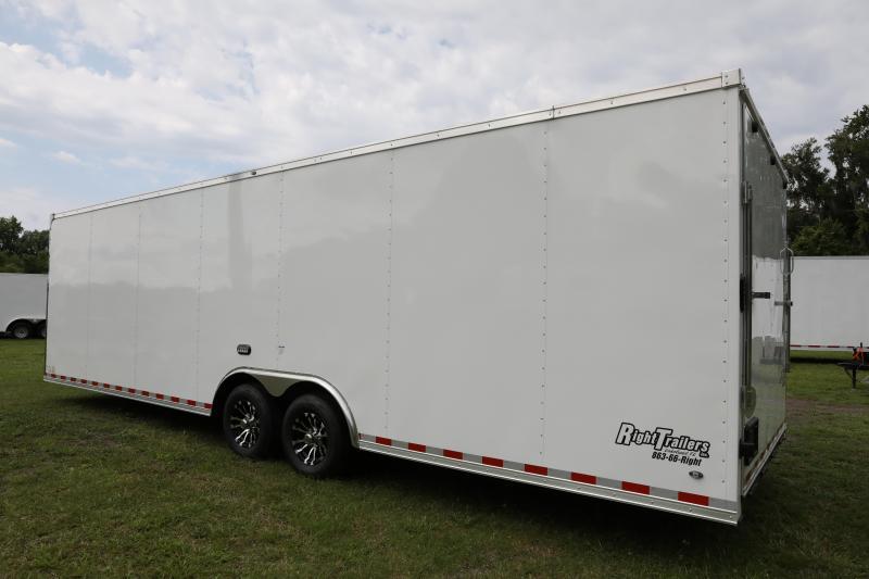 8.5x28 Continental Cargo   Enclosed Racing Trailer