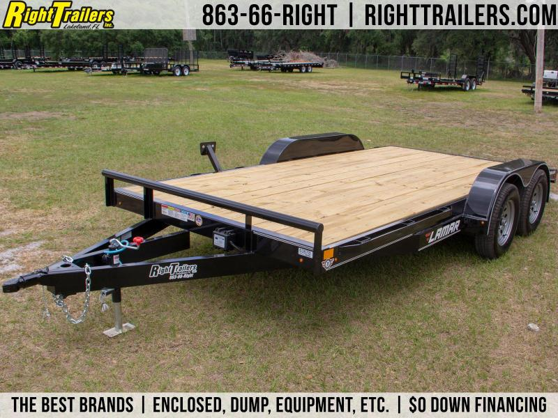 7x16 Lamar Trailers | Open Car Hauler