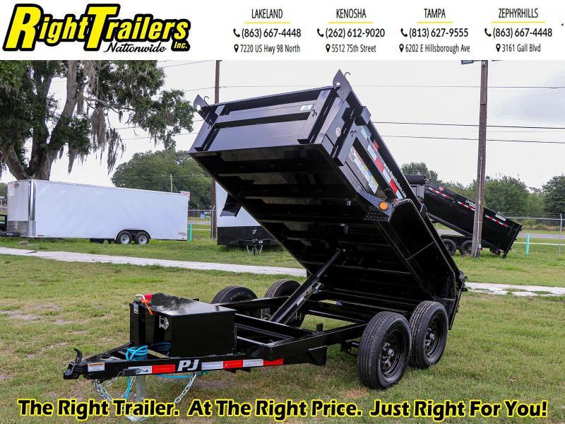 5X10 PJ Trailers 60 in. Utility Dump (D5) Dump Trailer