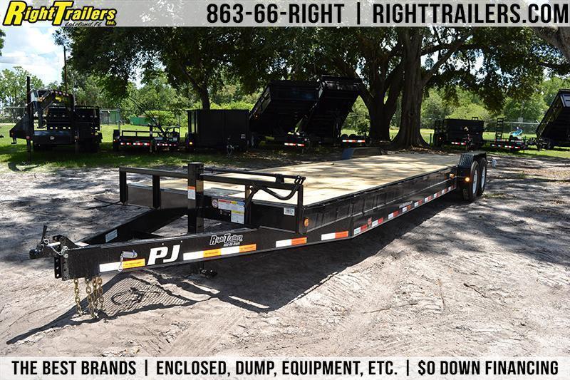 7x32 PJ Trailers   Equipment Trailer
