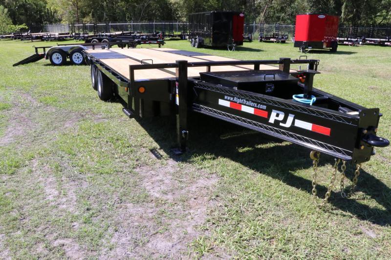 8.5x20 PJ Trailers I Equipment Trailer