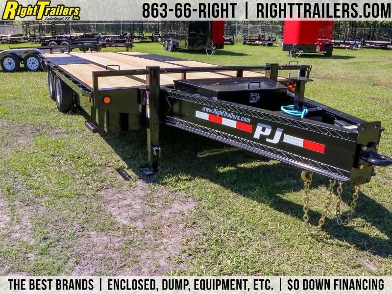 8.5x20 PJ Trailers I Equipment Trailer