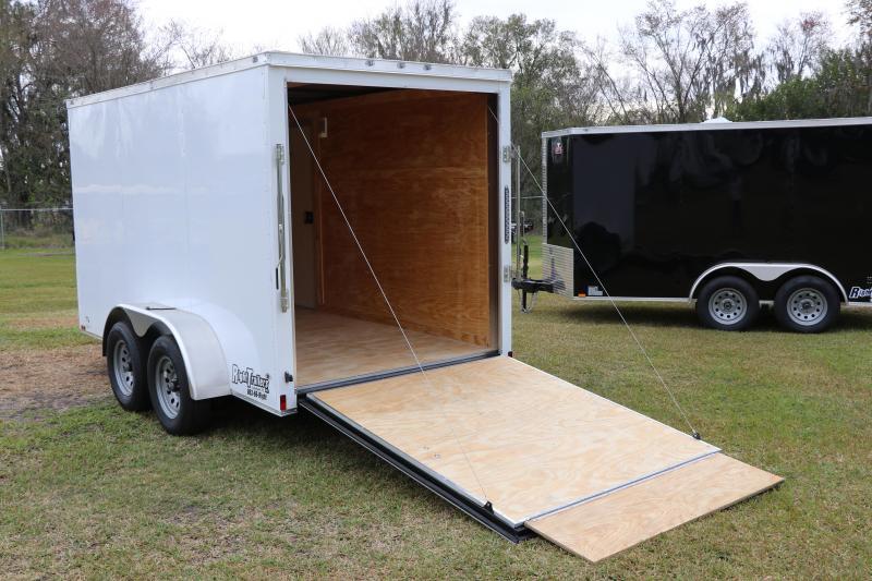 6X12 Anvil Enclosed  Cargo Trailer