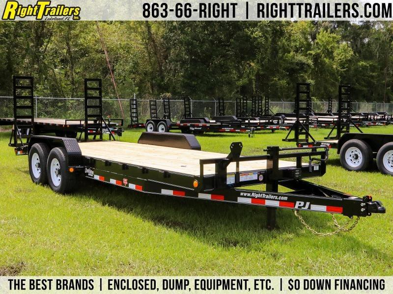 7x20 PJ Trailers | Equipment Trailer