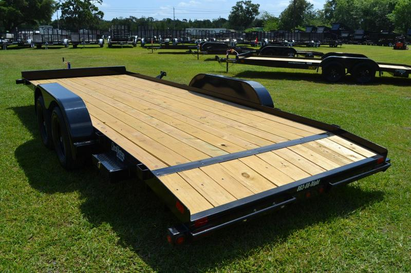 7x20 Big Tex Trailers   Open Car Hauler Trailer