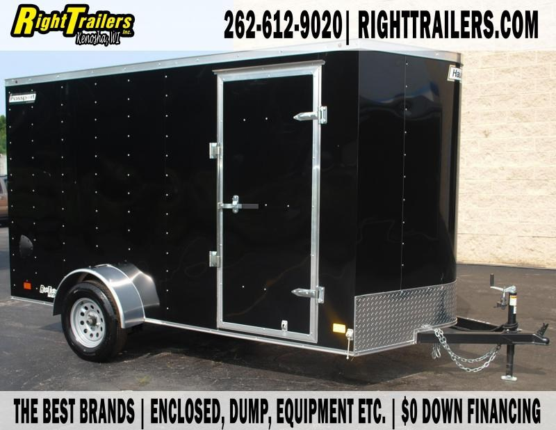 6X12 Haulmark I Enclosed  Trailer