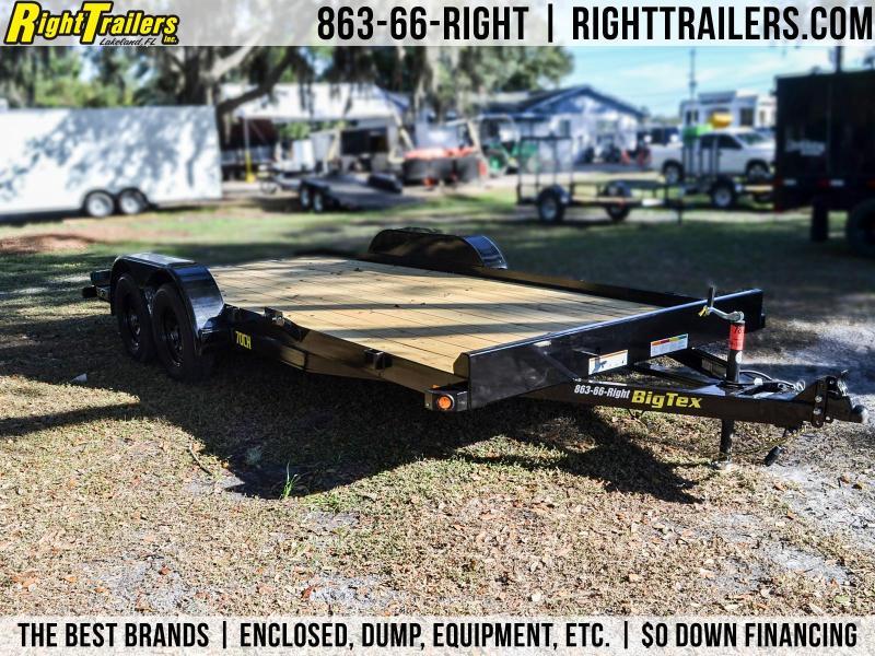 7x18 Big Tex Trailers | Open Car Hauler Trailer