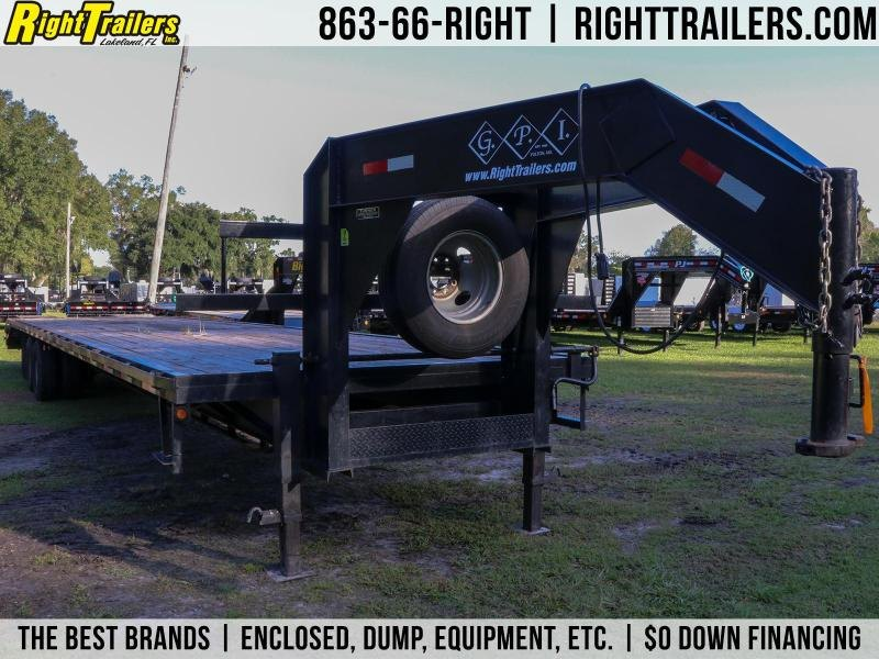 8.5x40 GPI | Used Flatbed Trailer