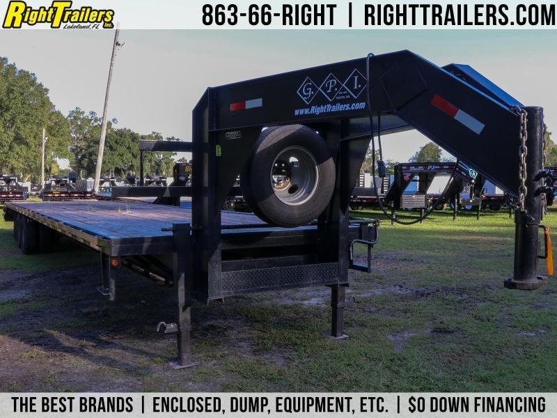 8.5x40 GPI | Used Flatbed Trailer