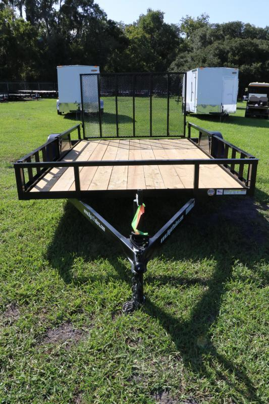 7x12 Red Hot Trailers   ATV Utility Trailer