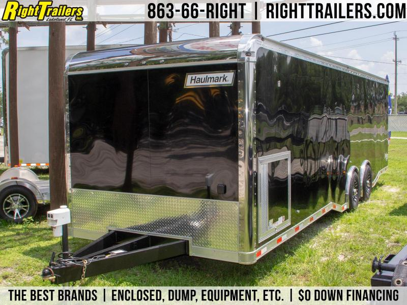 8.5x28 Haulmark Edge Pro | Race Car Trailer [Black]