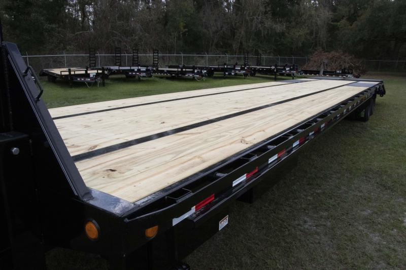 8.5X40 PJ Trailers Low-Pro Flatdeck with Duals (LD) I Flatbed Trailer