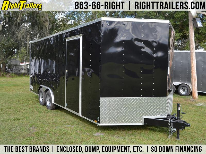 8.5x20 Pace American   Enclosed Trailer