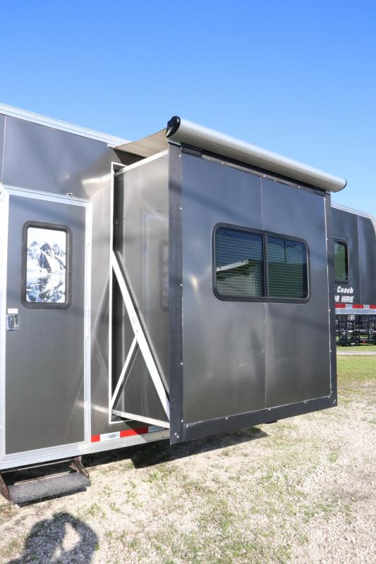8.5X50 Vintage Trailers | Living Quarters Racing Trailer