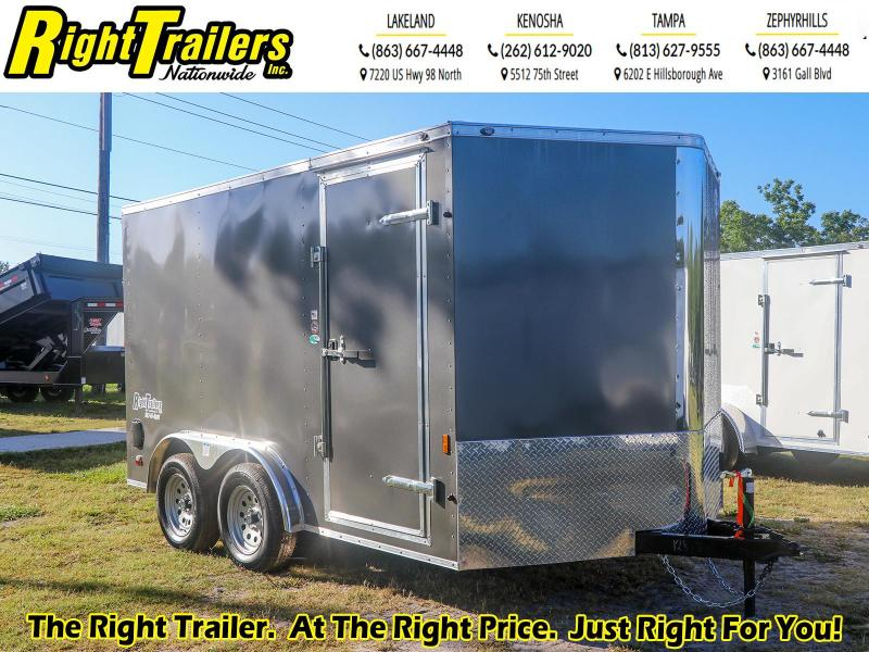7X12 Continental Cargo I Enclosed Cargo Trailer