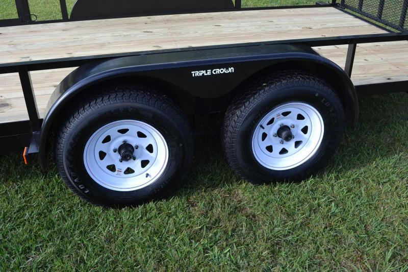 7x16 Red Hot | ATV Utility Trailer