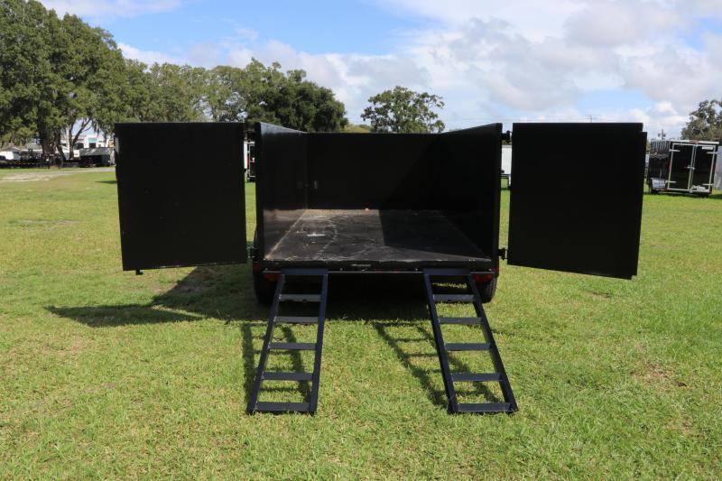 6x12 Red Hot Trailers | Dump Trailer