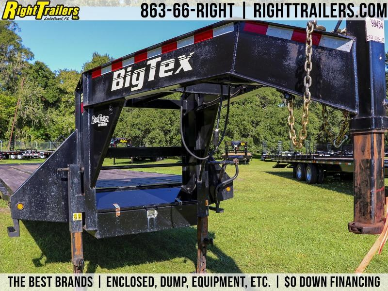 8.5x35 Big Tex Trailers I Gooseneck Trailer
