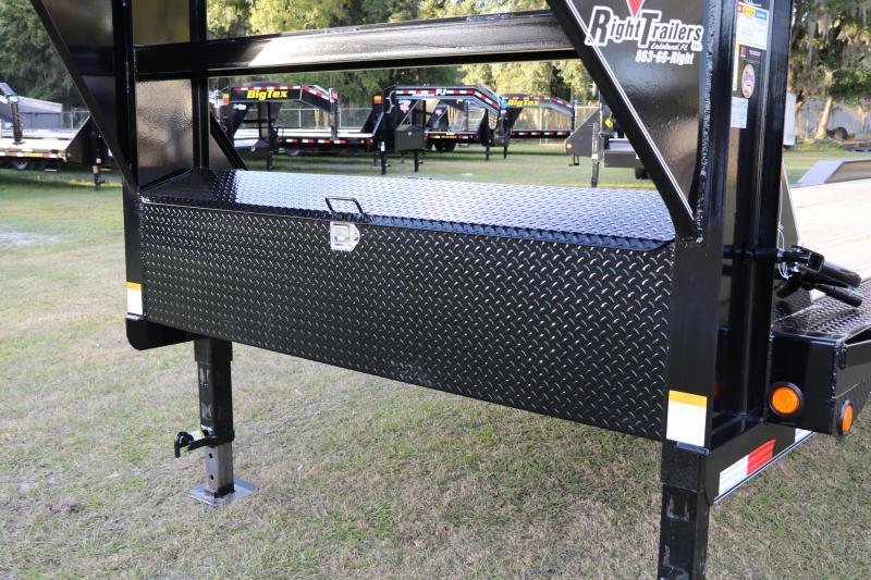 8.5x40 PJ Trailers | Gooseneck Carhauler / Equipment Trailer
