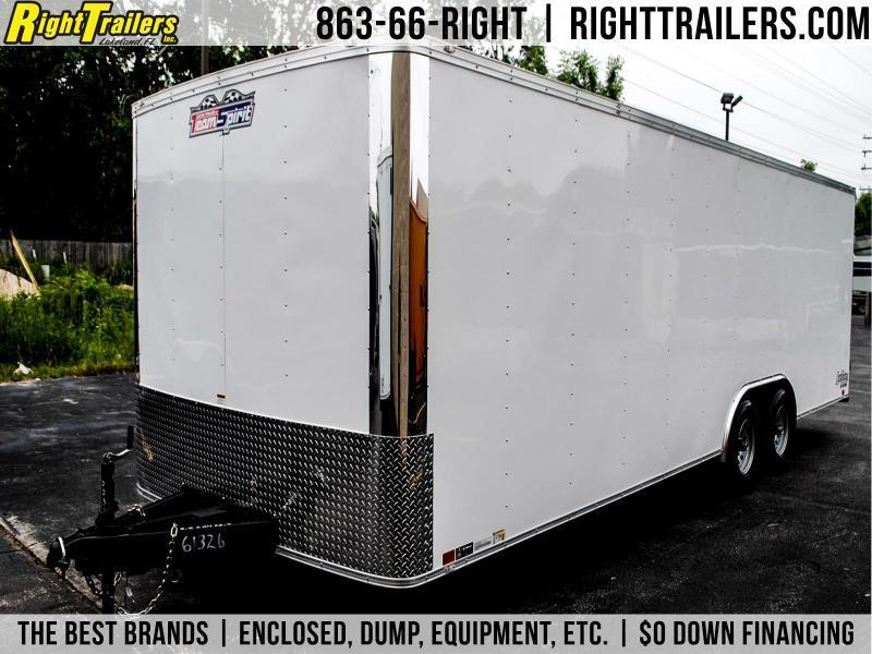 8.5x24x6.5 Team Spirit Custom Trailers | Enclosed Trailer