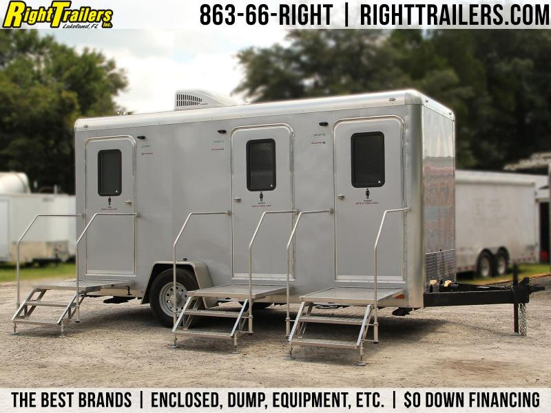 Restroom Trailer | Forest River | 3 Stations