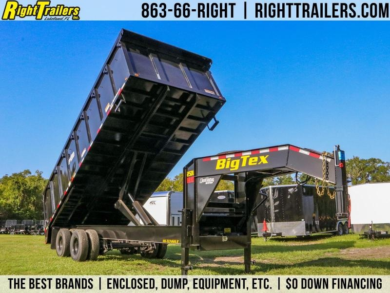 8.5x20 Big Tex Trailers | Deck Over Dump Trailer
