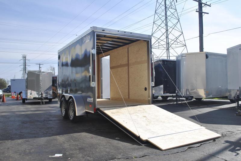 6X12 Haulmark I Enclosed Cargo Trailer