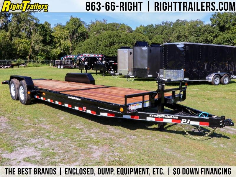7X24 PJ Trailers I TILT Equipment Trailer