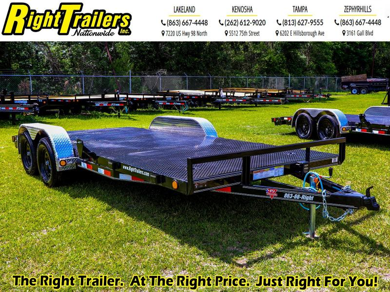 7X18  PJ Trailers I Car Hauler Trailer