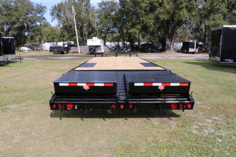 8x28 PJ Trailers Deckover | Equipment Trailer