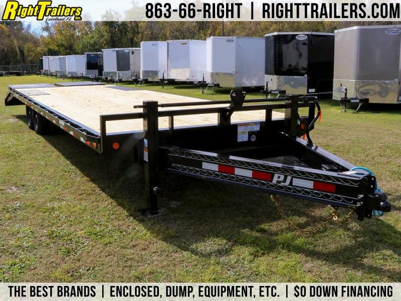 8x28 PJ Trailers Deckover | Equipment Trailer