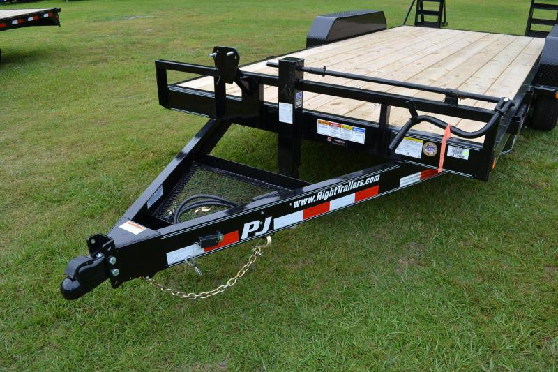 7x18 PJ Trailers | Equipment Trailer