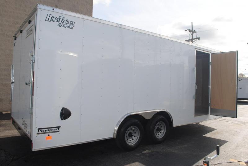 8.5x20 Haulmark i Enclosed Cargo Trailer