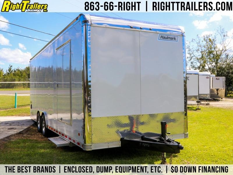 8.5x24x7.4 Haulmark  | Car / Racing Trailer