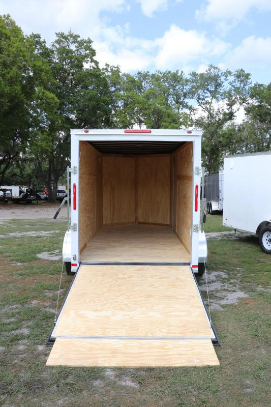6X12 Red Hot Trailer I Enclosed Cargo Trailer