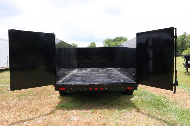 7x16x4 PJ Trailers | Dump Trailer