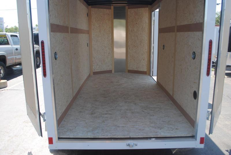 6x12 Haulmark Enclosed   Cargo Trailer