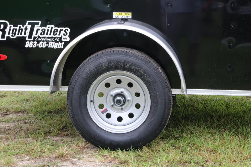 5x8 Red Hot Trailers | Enclosed Trailer