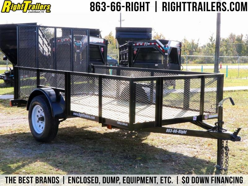 2020 Red Hot Trailers U5X10G Utility Trailer