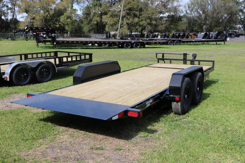 7X20 PJ Trailers I Equipment Trailer