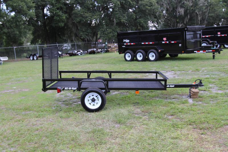 4x8 Red Hot | Utility Trailer