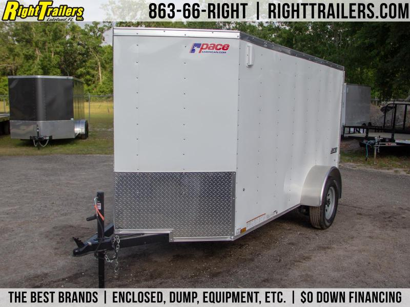 5x10 Pace American   Enclosed Trailer